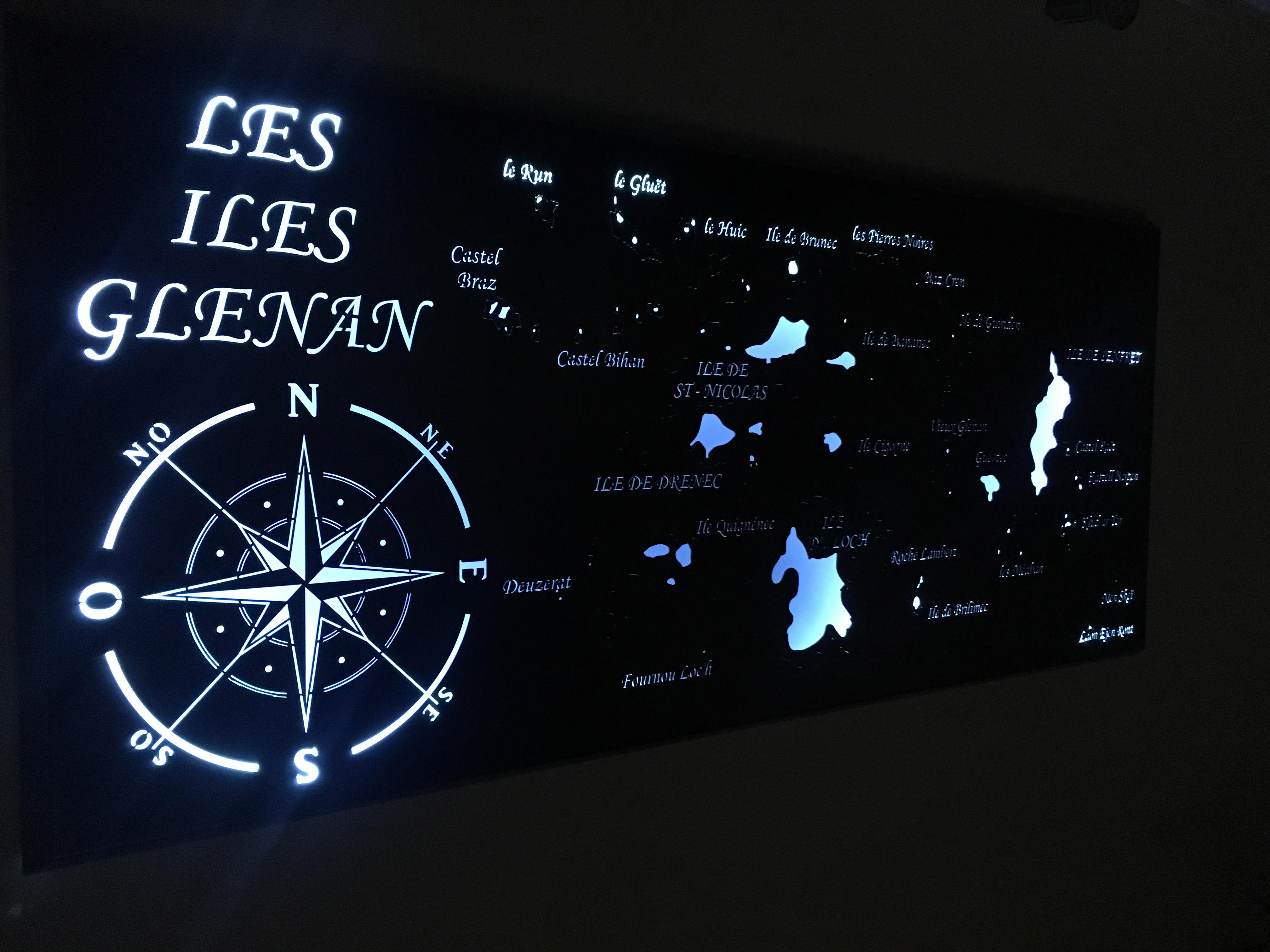 Applique murale personnalisée - Art Métal Concept