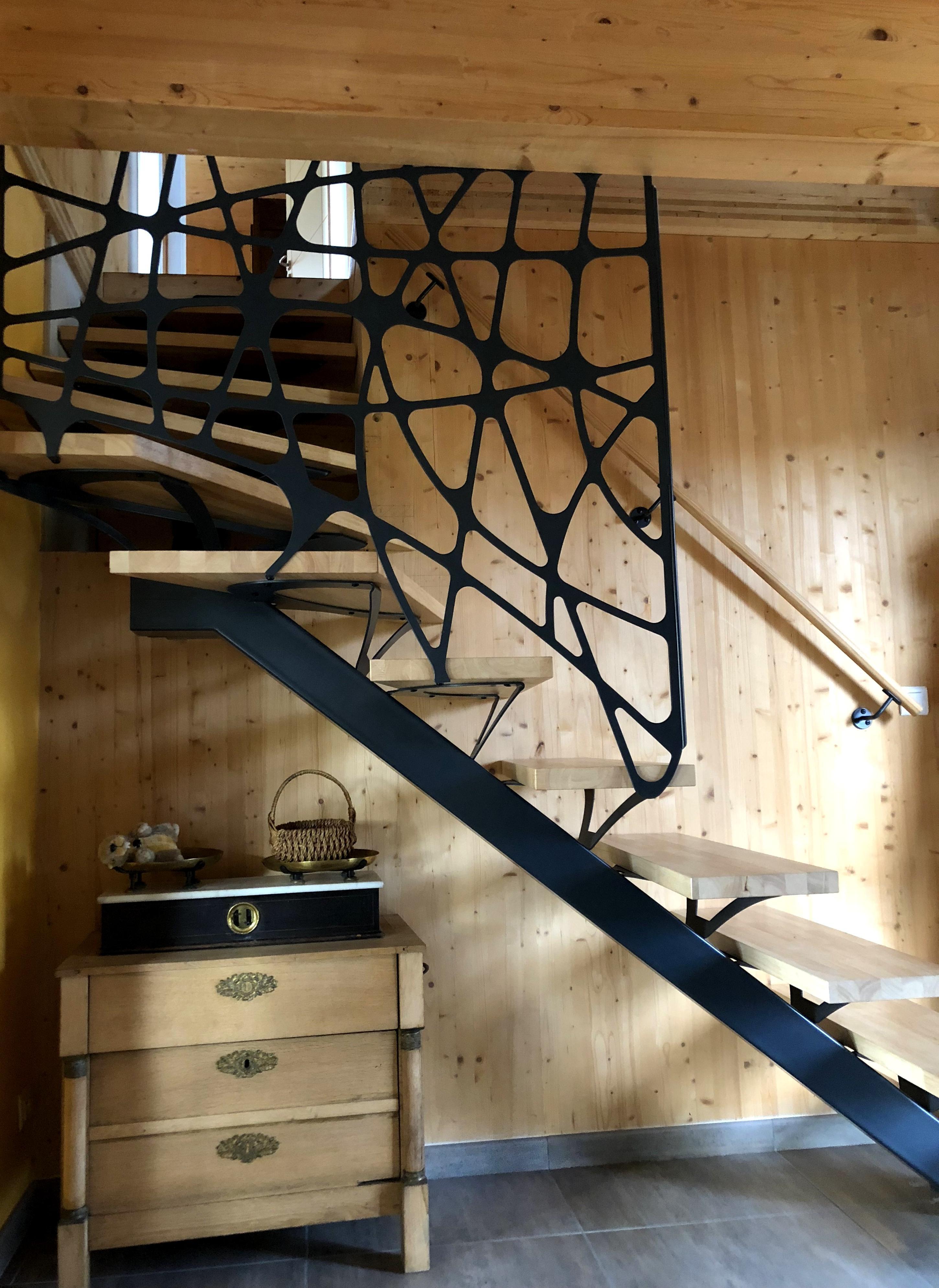 Garde-corps et escalier métallique - Art Métal Concept
