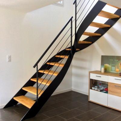 Escaliers sur limons collatéraux