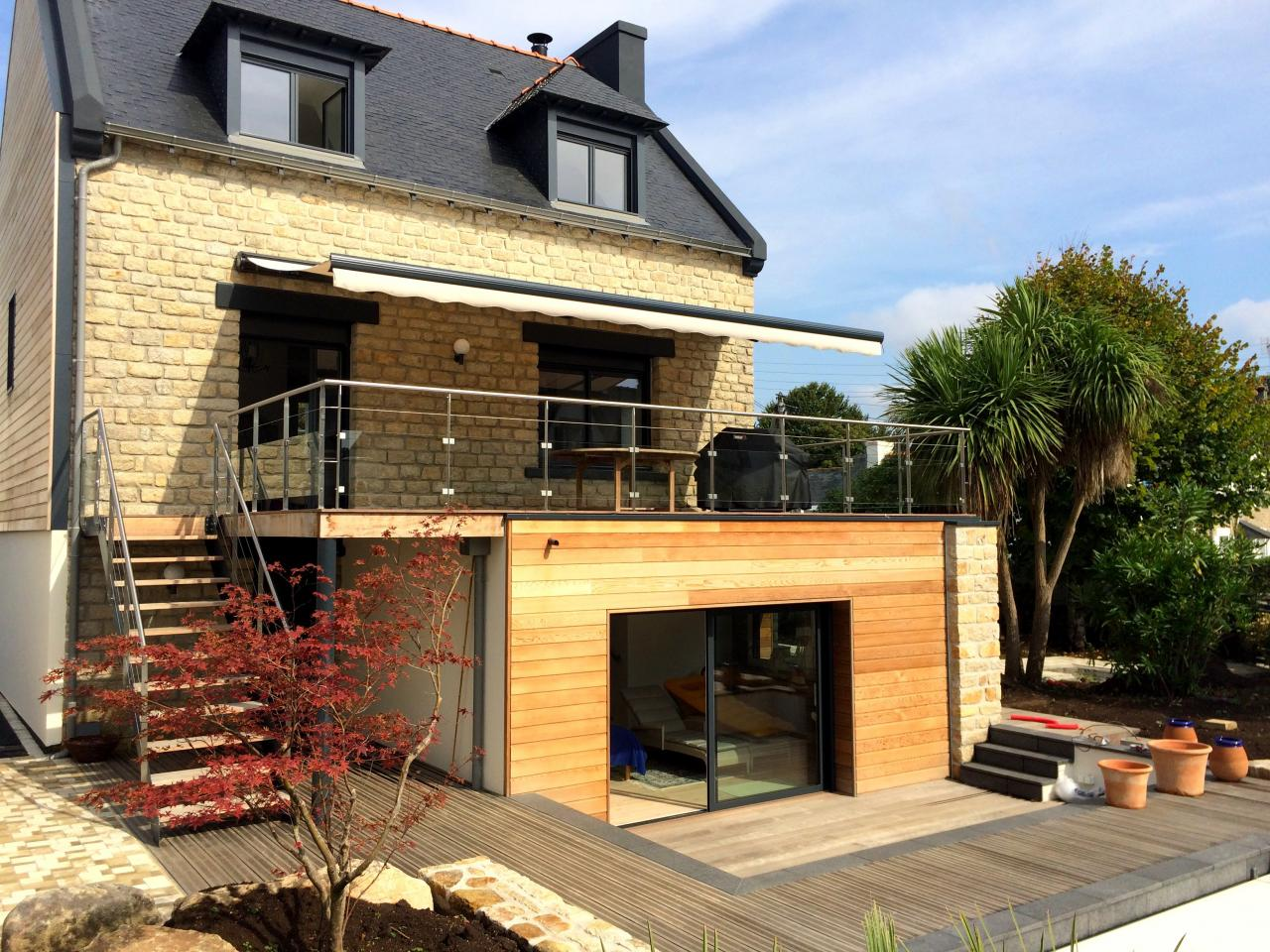 Terrasse extérieure - Art Métal Concept