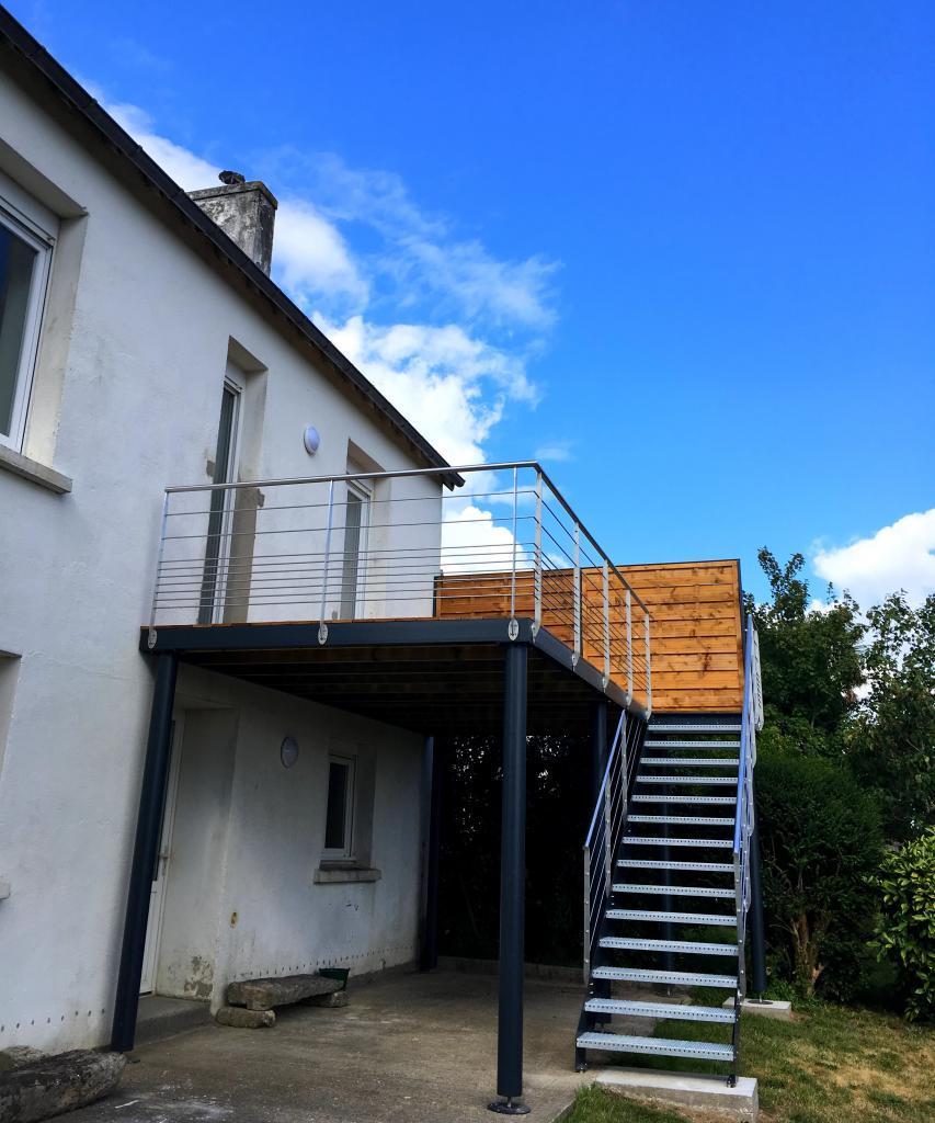 Terrasse métallique - Art Métal Concept