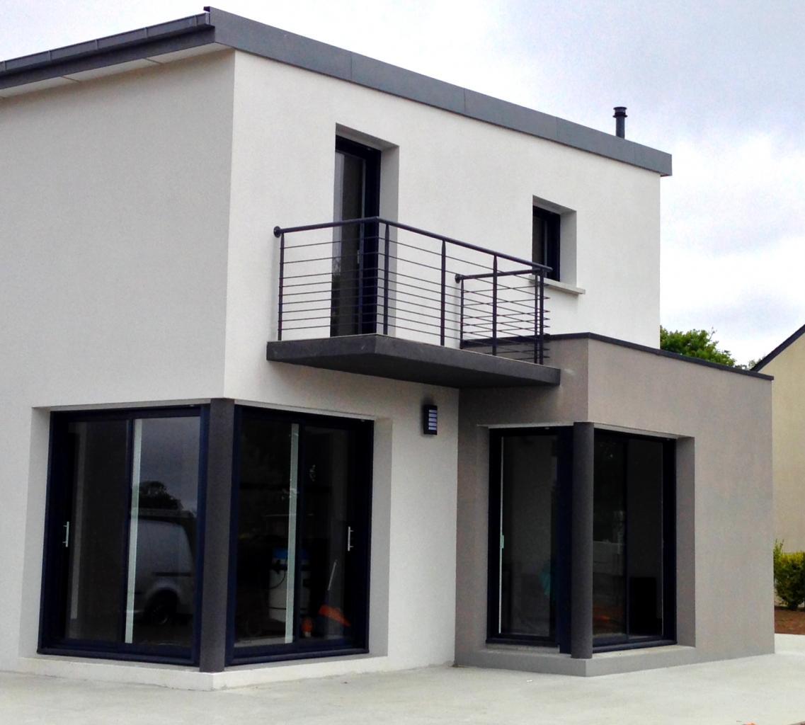 Garde-corps pour terrasse extérieure - Art Métal Concept
