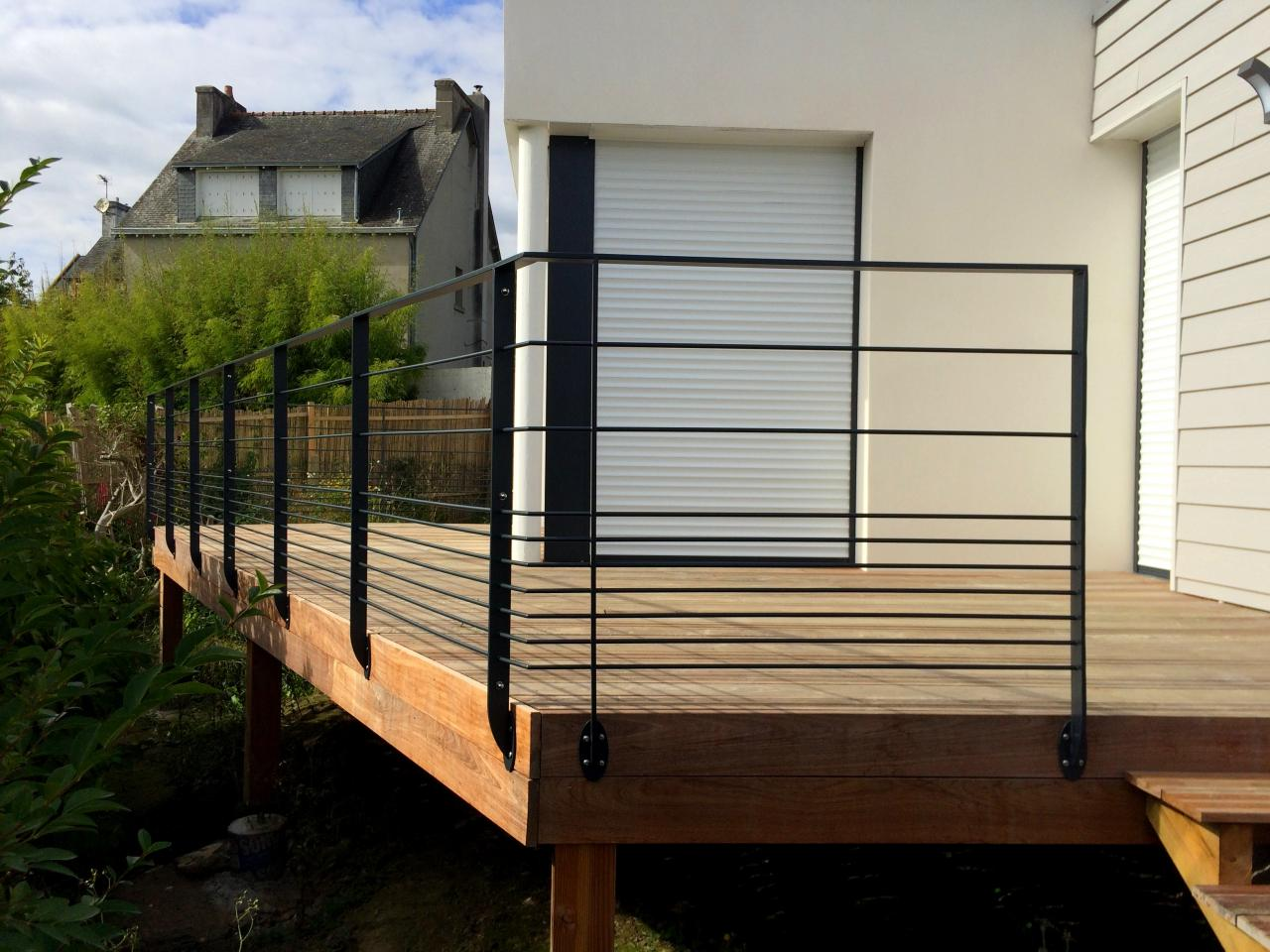 Garde corps ext rieurs for Barriere metallique exterieur