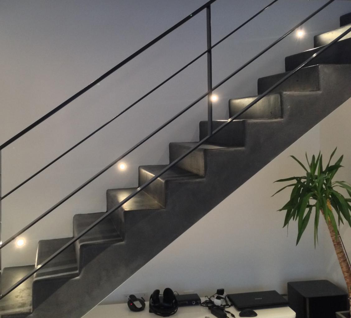 best rambarde escalier beton pictures. Black Bedroom Furniture Sets. Home Design Ideas