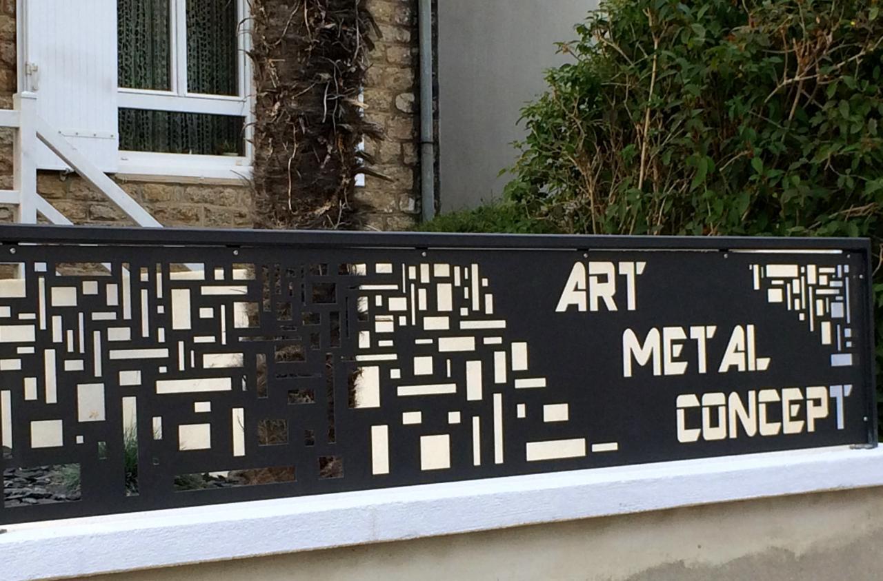 Garde-corps métallique - Art Métal Concept