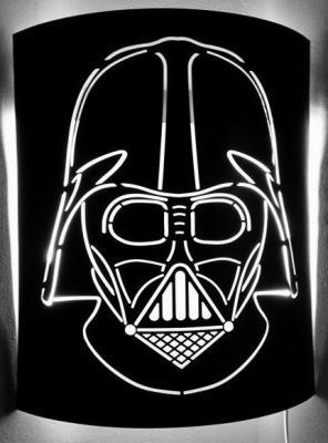 Applique murale metallique star wars art metal concept quimper