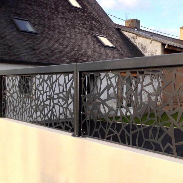 portail m tallique design portail m tallique aluminium. Black Bedroom Furniture Sets. Home Design Ideas