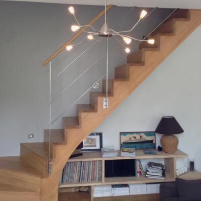 Relooking escalier bois