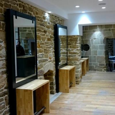 Meubles pour salon de coiffure - Art Métal Concept