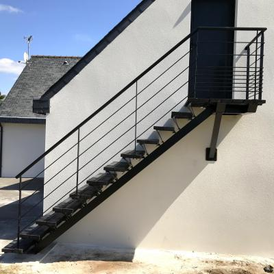 Balcon suspendu - Art Métal Concept