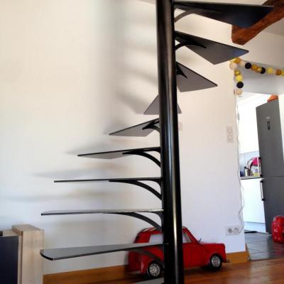 Escalier métallique - Art Métal Concept