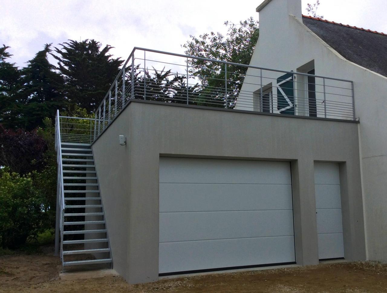 Garde-corps pour terrasse - Art Métal Concept