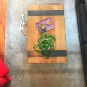 Table basse sur pieds métalliques - Art Métal Concept