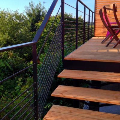 Terrasse suspendue - Art Métal Concept