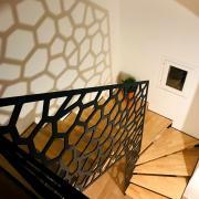 Escalier contemporain decoration interieure personnalise art metal concept quimper 1